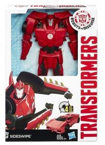 HASBRO Transformers Robots in Disguise 4 Steps Change Heros Sideswipe Figurka 6l+